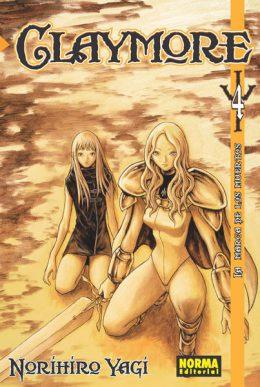 Claymore manga tomo 4