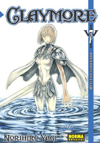Claymore manga tomo 7