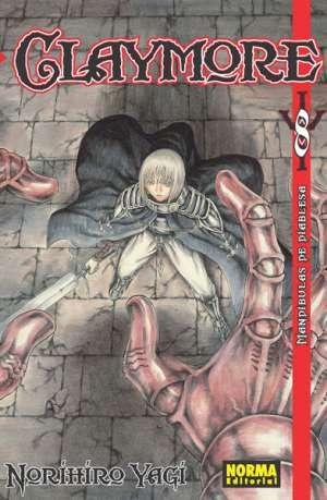 Claymore manga tomo 8