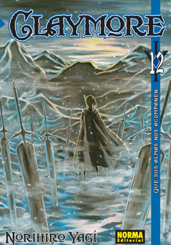 Claymore manga tomo 12