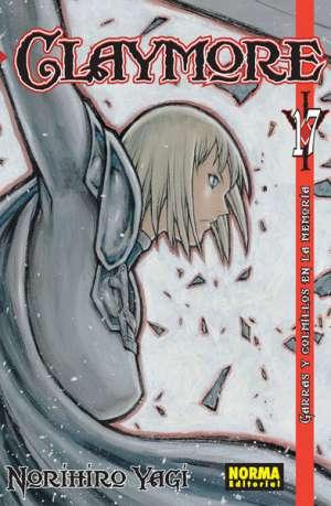 Claymore manga tomo 17