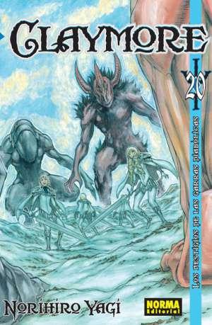 Claymore manga tomo 20