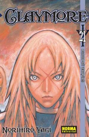 Claymore manga tomo 21
