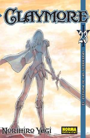 Claymore manga tomo 23