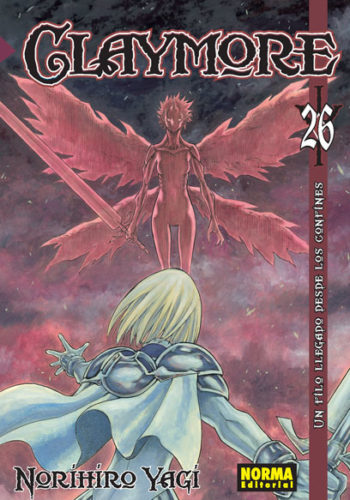Claymore manga tomo 26