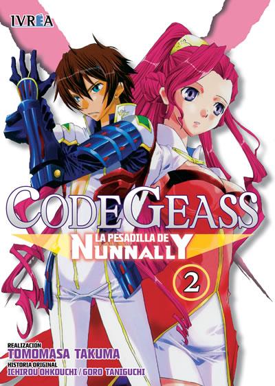 Code Geass La Pesadilla De Nunnally Manga Tomo 2