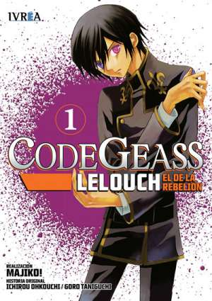 Code Geass Lelouch El De La Rebelion