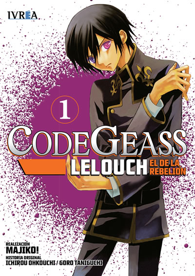 Code Geass Lelouch El De La Rebelion Manga Tomo 1
