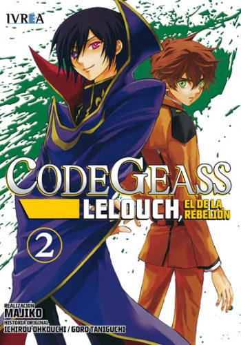 Code Geass Lelouch El De La Rebelion Manga Tomo 2
