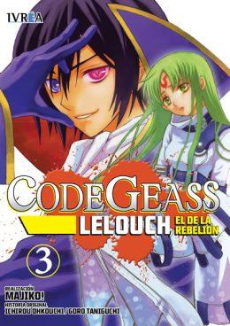 Code Geass Lelouch El De La Rebelion Manga Tomo 3