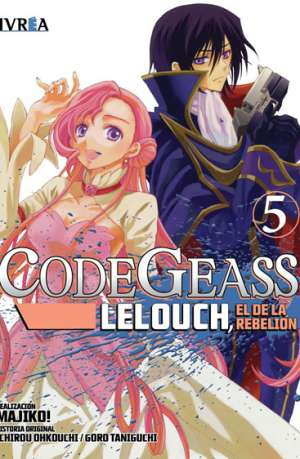 Code Geass Lelouch El De La Rebelion Manga Tomo 5