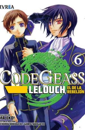 Code Geass Lelouch El De La Rebelion Manga Tomo 6