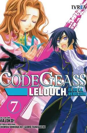 Code Geass Lelouch El De La Rebelion Manga Tomo 7