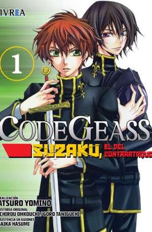 Code Geass Suzaku El Del Contraataque Manga Tomo 1