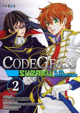 Code Geass Suzaku El Del Contraataque Manga Tomo 2