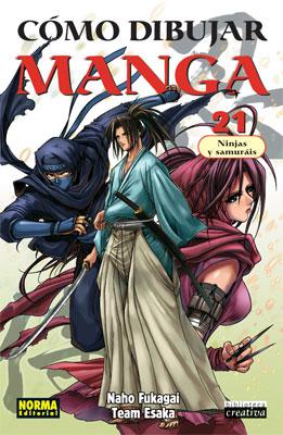 Como Dibujar Manga 21 Ninjas y Samurais