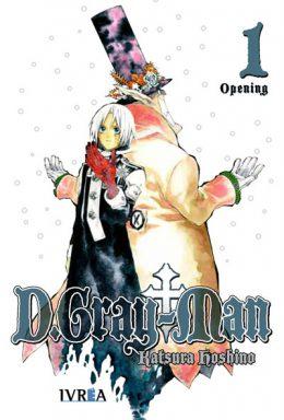 D. Gray-Man Manga Tomo 1