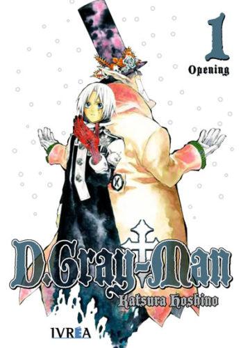 D.Gray-Man Manga 01