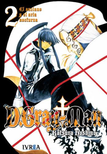 D. Gray-Man Manga Tomo 2