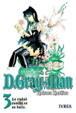 D. Gray-Man Manga Tomo 3