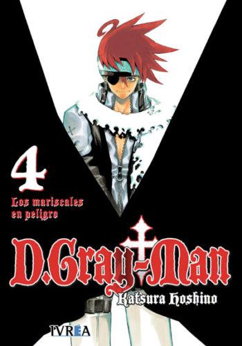 D.Gray-Man Manga 04