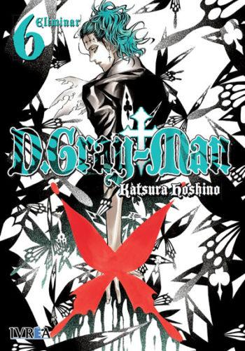 D. Gray-Man Manga Tomo 6