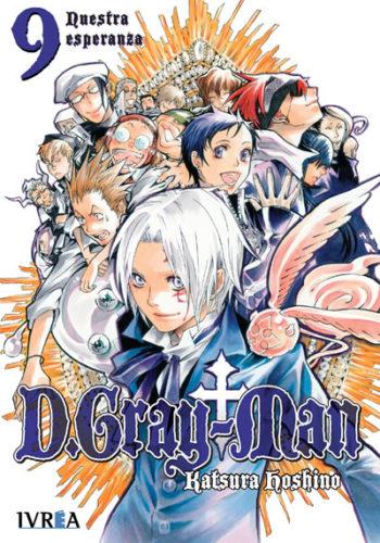 D.Gray-Man Manga 09