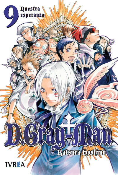 D. Gray-Man Manga Tomo 9
