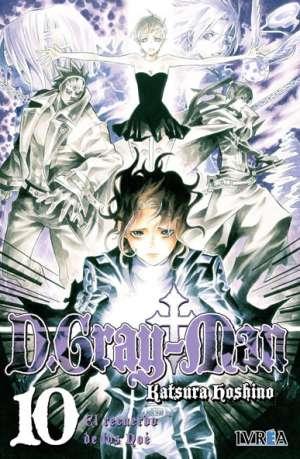 D. Gray-Man Manga Tomo 10