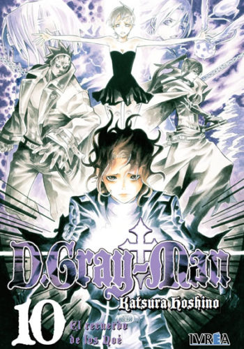 D.Gray-Man Manga 10