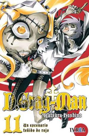 D. Gray-Man Manga Tomo 11