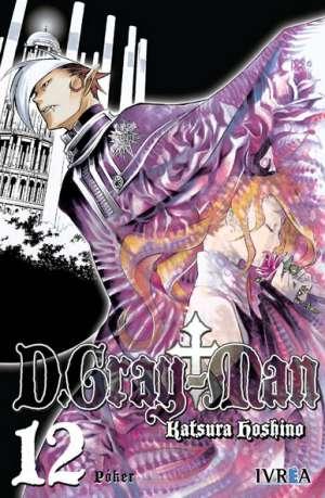D. Gray-Man Manga Tomo 12
