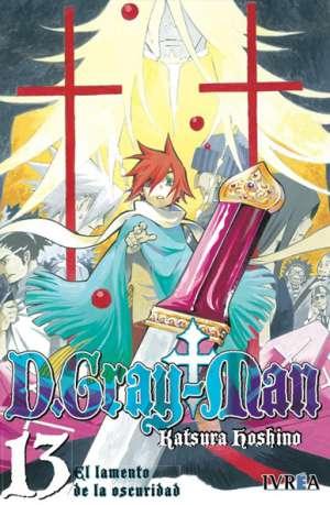 D. Gray-Man Manga Tomo 13