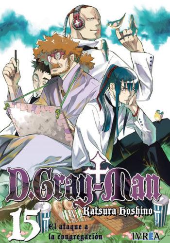 D. Gray-Man Manga Tomo 15