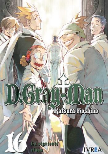 D. Gray-Man Manga Tomo 16