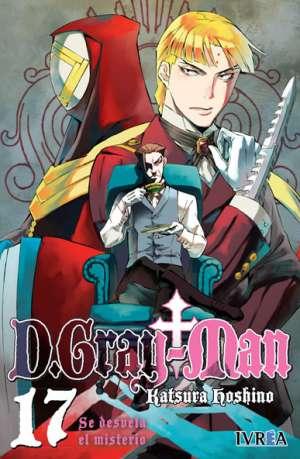 D. Gray-Man Manga Tomo 17