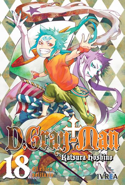 D. Gray-Man Manga Tomo 18