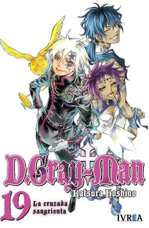 D. Gray-Man Manga Tomo 19
