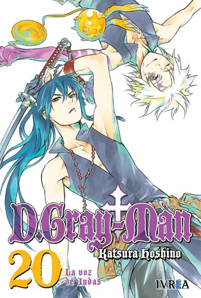 D. Gray-Man Manga Tomo 20