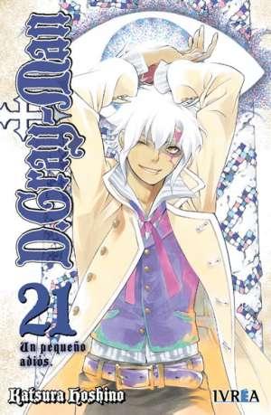 D. Gray-Man Manga Tomo 21