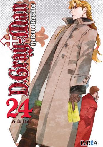 D. Gray-Man Manga Tomo 24