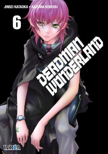 Deadman Wonderland Manga Tomo 6