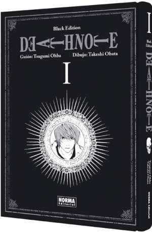 Death Note Black Edition manga tomo 1