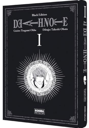 Death Note Black Edition manga tomo 1