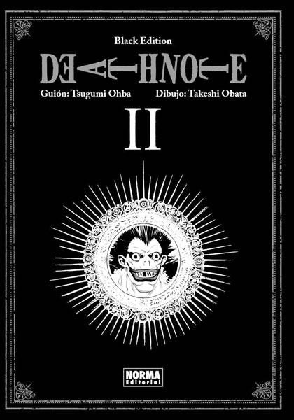 Death Note Black Edition manga tomo 2