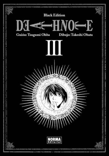 Death Note Black Edition manga tomo 3