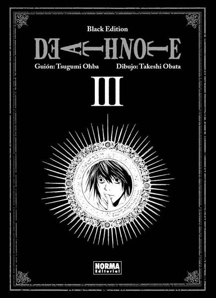 Death Note Black Edition manga tomo 3