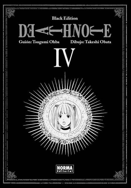 Death Note Black Edition manga tomo 4