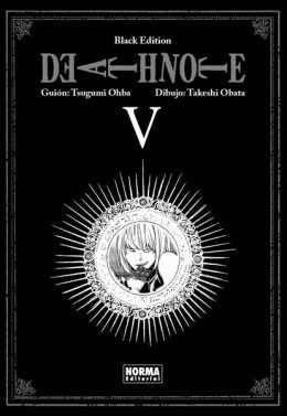 Death Note Black Edition manga tomo 5