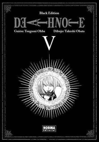 Death Note Black Edition manga tomo 5